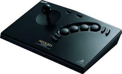 NeoGeo Stick für PlayStation