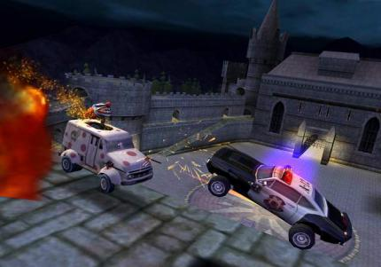 Harte Action & heiße Schlitten: Twisted Metal Head On kommt für PlayStation 2!