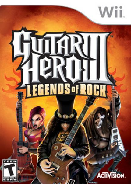 Guitar Hero III - Legends of Rock - Wii