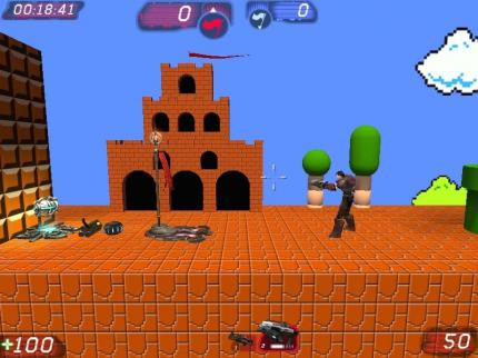 Putzige Mod: Unreal Tournament 3 in 2D und Mario-Style