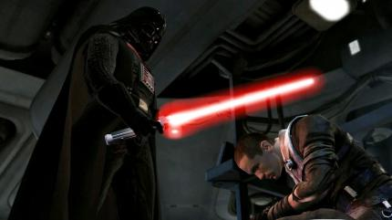 Spielen Sie Darth Vader in Star Wars: The Force Unleashed!