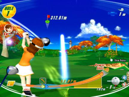 We love Golf! - Wii