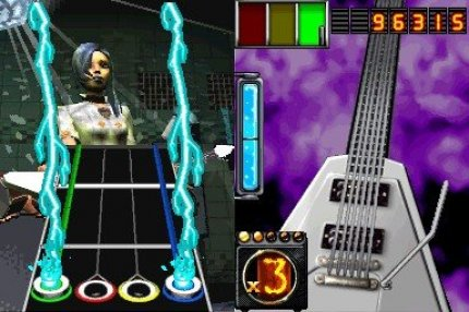 Test-Video zu Guitar Hero on Tour für DS