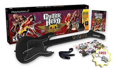 Neues Video und Packshots von Guitar Hero Aerosmith!