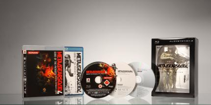 Bildmaterial zur Metal Gear Solid 4 Limited-Edition