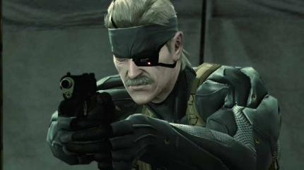 Solid Snake aus Metal Gear Solid 4.