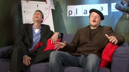 Video-Outtakes aus der play3-Show 09/08