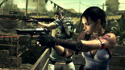 Screenshot aus Resident Evil 5