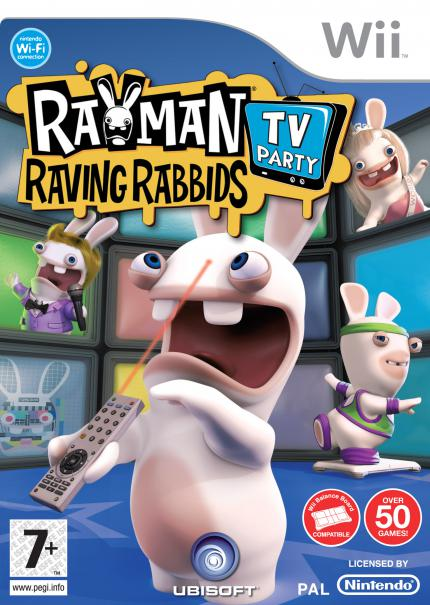 Rayman Raving Rabbids TV Party - EU-Packshot