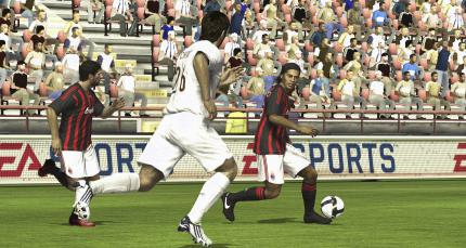 Screenshot aus FIFA 09