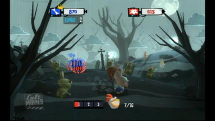 Rayman Raving Rabbids TV Party - Wii (BILD: N-ZONE) (1)