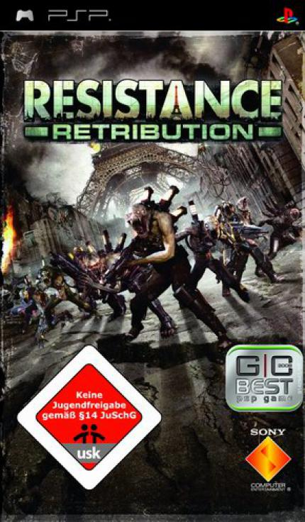 Resistance: Retribution Packshot