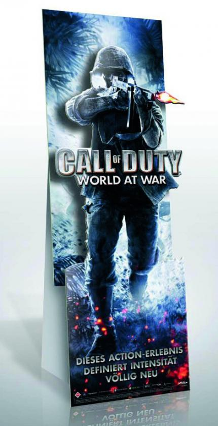 Call of Duty: World at War Pappaufsteller zu gewinnen.