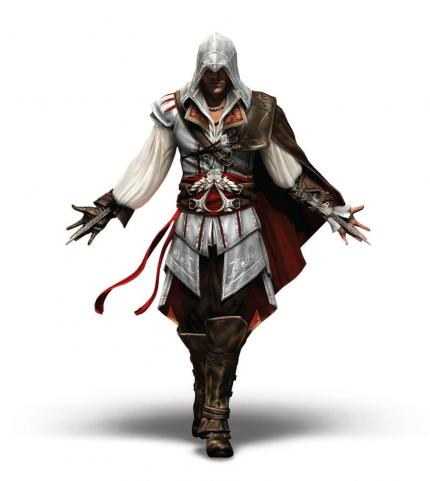 Ezio Auditore de Firenze, der Hauptcharakter aus Assassin's Creed 2.