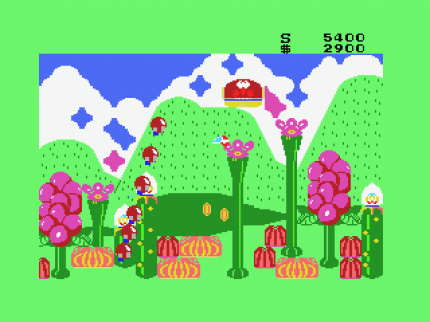 Virtual Console-Update: Fantasy Zone II (Master System)