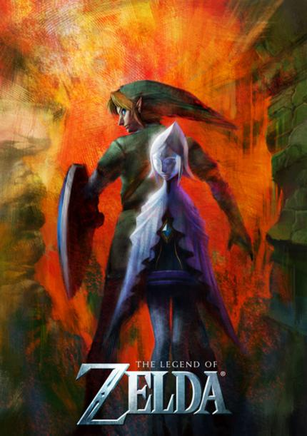 Wii Zelda Artwork