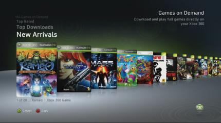Games on Demand: Gute Idee, hohe Preise