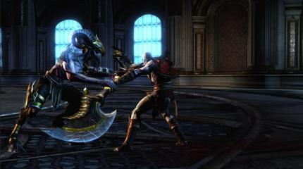 Neue Screenshots zu God of War 3 für PS3.