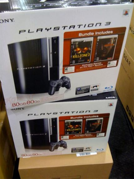 PlayStation 3-Bundle mit Killzone 2 und Metal Gear Solid 4