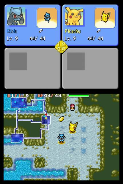 Pokémon Mystery Dungeon für DS - Screenshots (2)