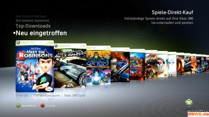 Xbox 360 Dashboard Screenshot (1)
