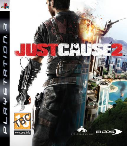 Just Cause 2-Packshot: PS3-Version.