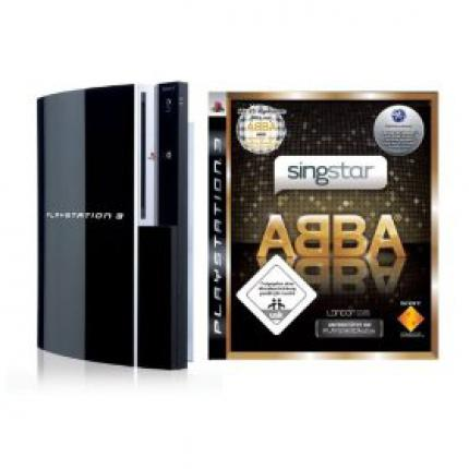 PlayStation 3 mit SingStar ABBA