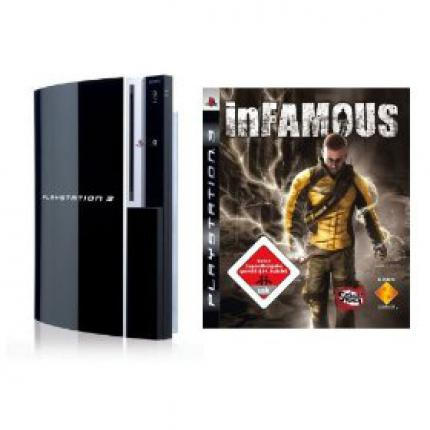 PlayStation 3 mit InFamous