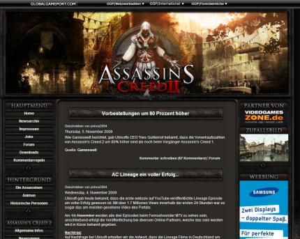 Assassin's Creed Fanseite