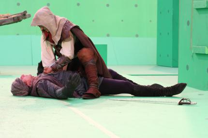 Making-of-Fotos zu Assassin's Creed: Lineage.