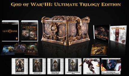 God of War 3: Ultimate Trilogy Edition incl. God of War Collection