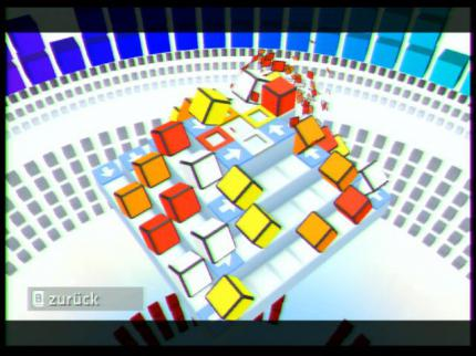 Rubik's Puzzle Galaxy Rush Screenshot