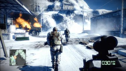 Screenshot aus Battlefield: Bad Company 2