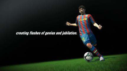 PES 2011: Lionell Messi vom FC Barcelona wird abermals Cover-Star. (5)