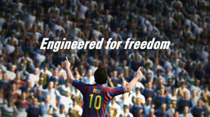 PES 2011: Lionell Messi vom FC Barcelona wird abermals Cover-Star. (7)