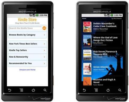 Amazon bringt im Sommer Kindle for Android.