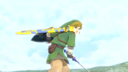 Zelda: Skyward Sword.