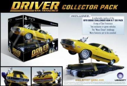 Die Limited Edition von Driver: San Francisco (PS3)