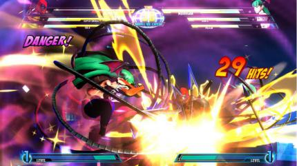 Aktuelle Screenshots aus Marvel vs. Capcom 3.