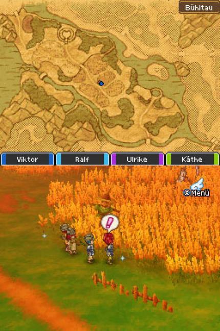 Dragon Quest 9 Badezimmer Der Königin