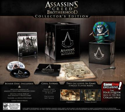 Die Collector's Editionen zu Assassin's Creed: Brotherhood. (4)