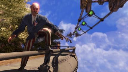 Screenshots aus Bioshock Infinite.
