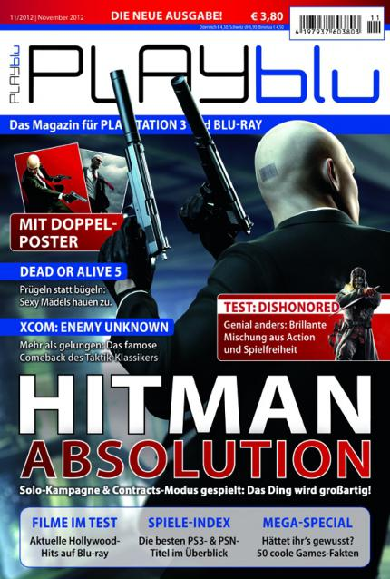 Hitman: Absolution ist das Titelthema der playBlu 11/12!