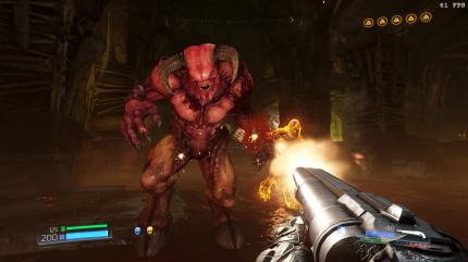 Doom: Screenshot aus der PC-Version.