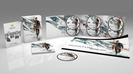 Quantum Break gibt es am PC jetzt auch in einer Timeless Collector's Edition mit Making-of-DVD, Artbook, Soundtrack-CD und Poster.