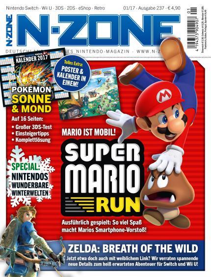 N Zone 01 2017 Super Mario Run Und Pokemon Sonne Mond