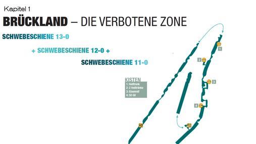 Final Fantasy 13-Lösung - Kapitel 1 - Brückenland: Die verbotene Zone: Schwebeschiene 13-0 + Schwebeschiene 12-0 + Schwebeschiene 11-0