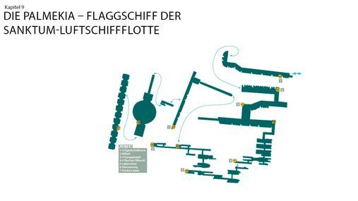 1. Luftschiffdock + Schiffshangar + Schiffskorridor