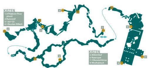 2. Himmelsschlund + Himmelskimme + Paddra-Schlucht + Ruinenstadt Paddra