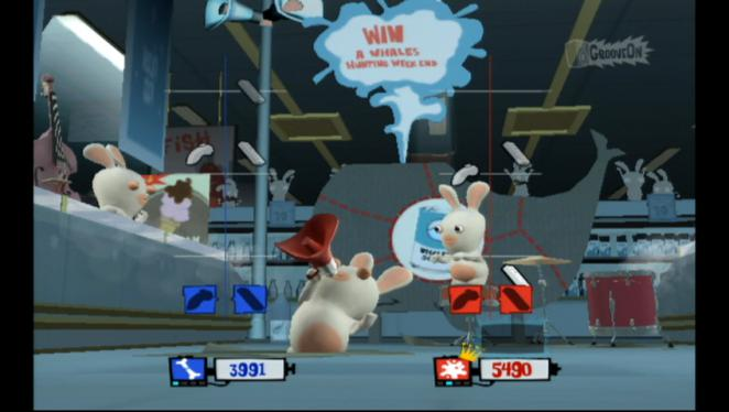 Rayman Raving Rabbids TV Party - Wii (BILD: N-ZONE) (2)